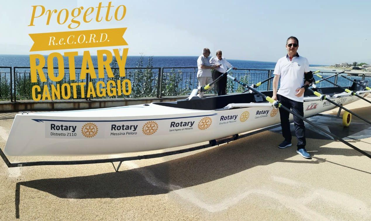 il presidente del Rotary Club Sant'Agata di Militello per l'anno 2021-22 Salvino Fidacaro
